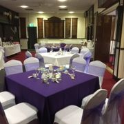 purple theme venue